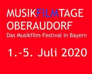 Musikfilmtage Oberaudorf - Logo - 1. - 5. Juli 2020